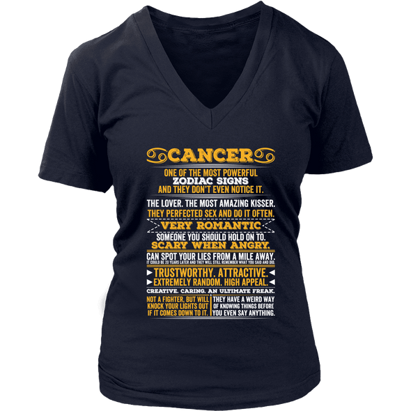 Long Quote Cancer Shirt, Hoodie & Tank