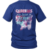 **Limited Edition** December Born Queens Back Print Shirt
