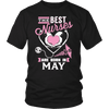 Best Nurses Are Born In May Women Shirts, Hoodie & Tank