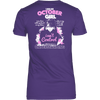 Limited Edition ***October Born Girl*** Shirts & Hoodies