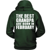 Limited Edition ***Best Grandpa Born In February*** Shirts & Hoodies