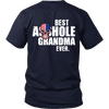 Limited Edition ***Best Grandma Ever Back Printed*** Shirts & Hoodies