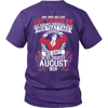Limited Edition **God Created August Men** Shirts & Hoodies