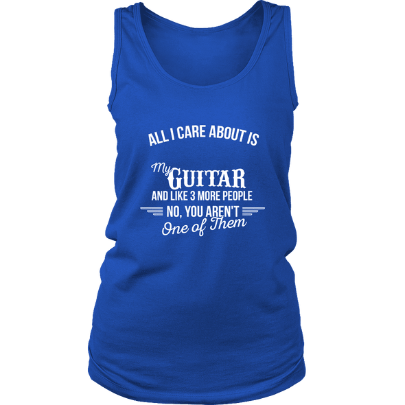 All I Care About Is My Guitar - Limited Edition Shirt