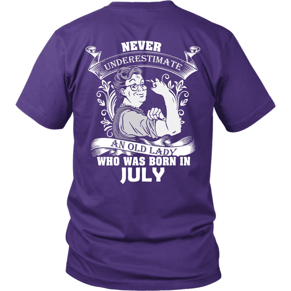 Limited Edition ***Old Lady Born In July*** Shirts & Hoodies