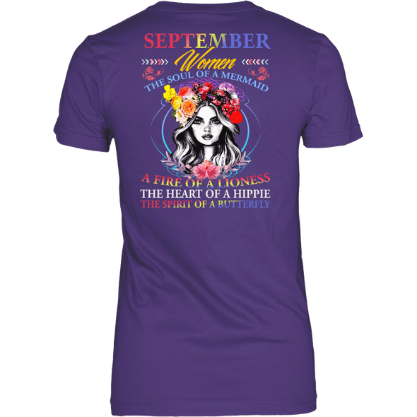 Limited Edition ***September Women Fire Of Lioness*** Shirts & Hoodies