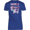 **Limited Edition** November  Born Queen Back Print Shirt
