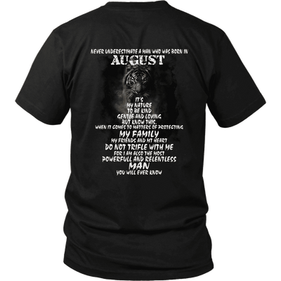 August Born ***Limited Edition Tiger Print Shirts***