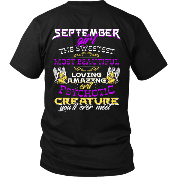 Limited Edition ***September Sweet Girl*** Shirts & Hoodies