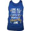 **Limited Edition** Love All Trust Few June Born Shirts