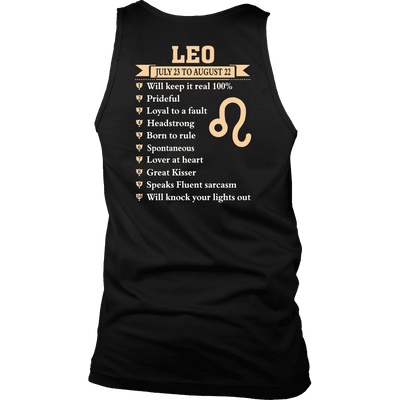 A True Leo ***Limited Edition Shirts & Hoodies***