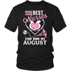 Best Nurses Are Born In August Women Shirts, Hoodie & Tank