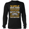 Leo Long Quote Shirt - Limited Edition Leo Long Quote Shirt, Hoodie & Tank