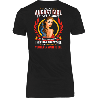 Limited Edition **August Girl 3 - Sides** Shirts & Hoodies