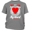 My Sons Wings Cover My Heart Shirts, Hoodie & Tank