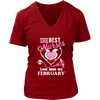 Best Nurses Are Born In February Women Shirts