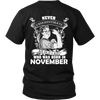 Limited Edition ***Old Lady Born In November*** Shirts & Hoodies