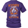 Limited Edition November Women Play With Fire Back Print Shirt
