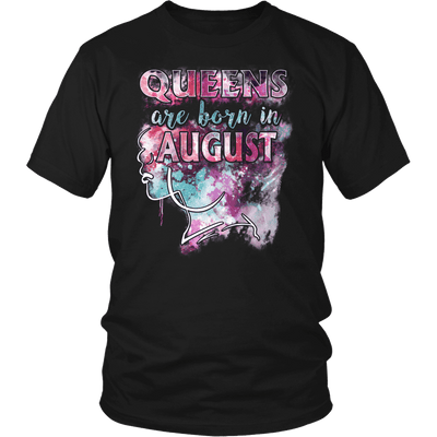 **Limited Edition** August Born Queen Front Print Shirt