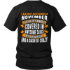 Limited Edition ***Not Just Born In November** Shirts & Hoodies