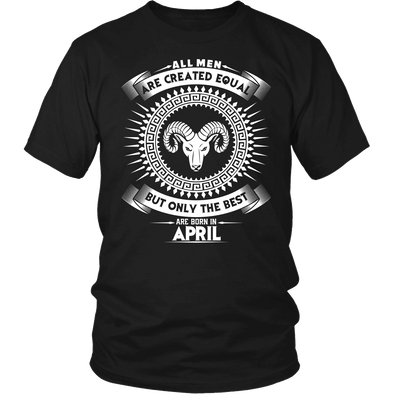 Best Are Born In April - Aries Shirt, Hoodie & Tank
