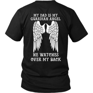 My Dad Is My Guardian Angel - Special Edition Shirt, Hoodie & Tank