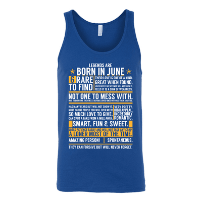 ***LIMITED EDITION****Born In June Shirts - Not Available In Stores