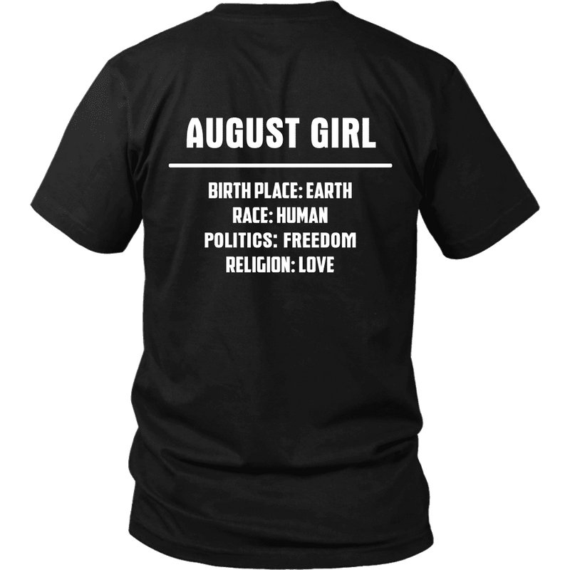 967fcba2 Limited Edition ***August Girl Birth Place*** Shirts & Hoodies ...