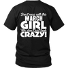 Limited Edition ***March Crazy Girl*** Shirts & Hoodies