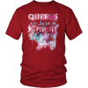 **Limited Edition** September Born Queen Front Print Shirt