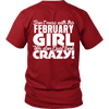 Limited Edition ***February Crazy Girl*** Shirts & Hoodies