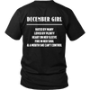 Limited Edition ***December Girl*** Shirts & Hoodies