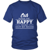 Cats Make Me Happy - Limited Edition Shirts, Hoodie & Tank