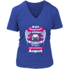 August Women Who Loves Pug Shirt, Hoodie & Tank