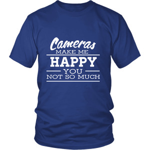 Camera Makes Me Happy - Limited Edition Shirts, Hoodie & Tank