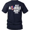 Limited Edition **Best Aunt Ever Back Print** Shirts & Hoodies