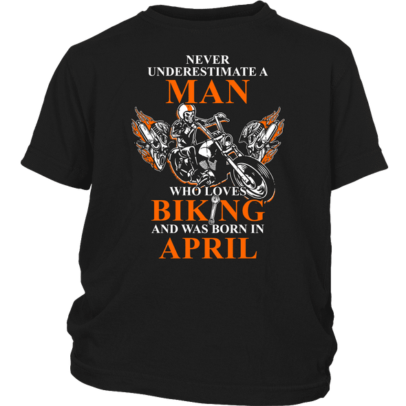 Never Underestimate A Man Who Loves Biking
