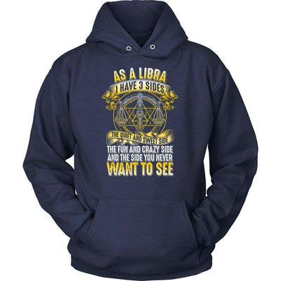 T-shirt - AS A LIBRA I HAVE 3 SIDES