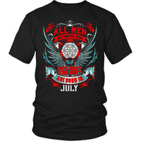 T-shirt - BEST MEN ARE BORN IN JULY