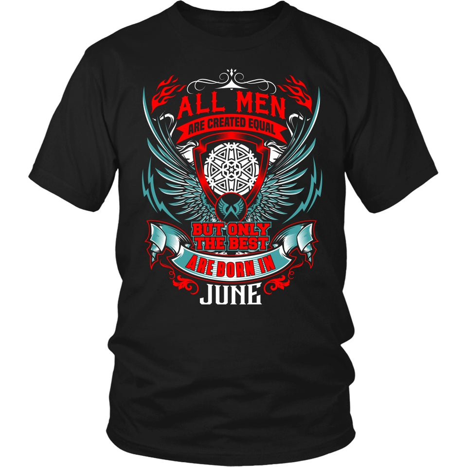 T-shirt - BEST MEN ARE BORN IN JUNE