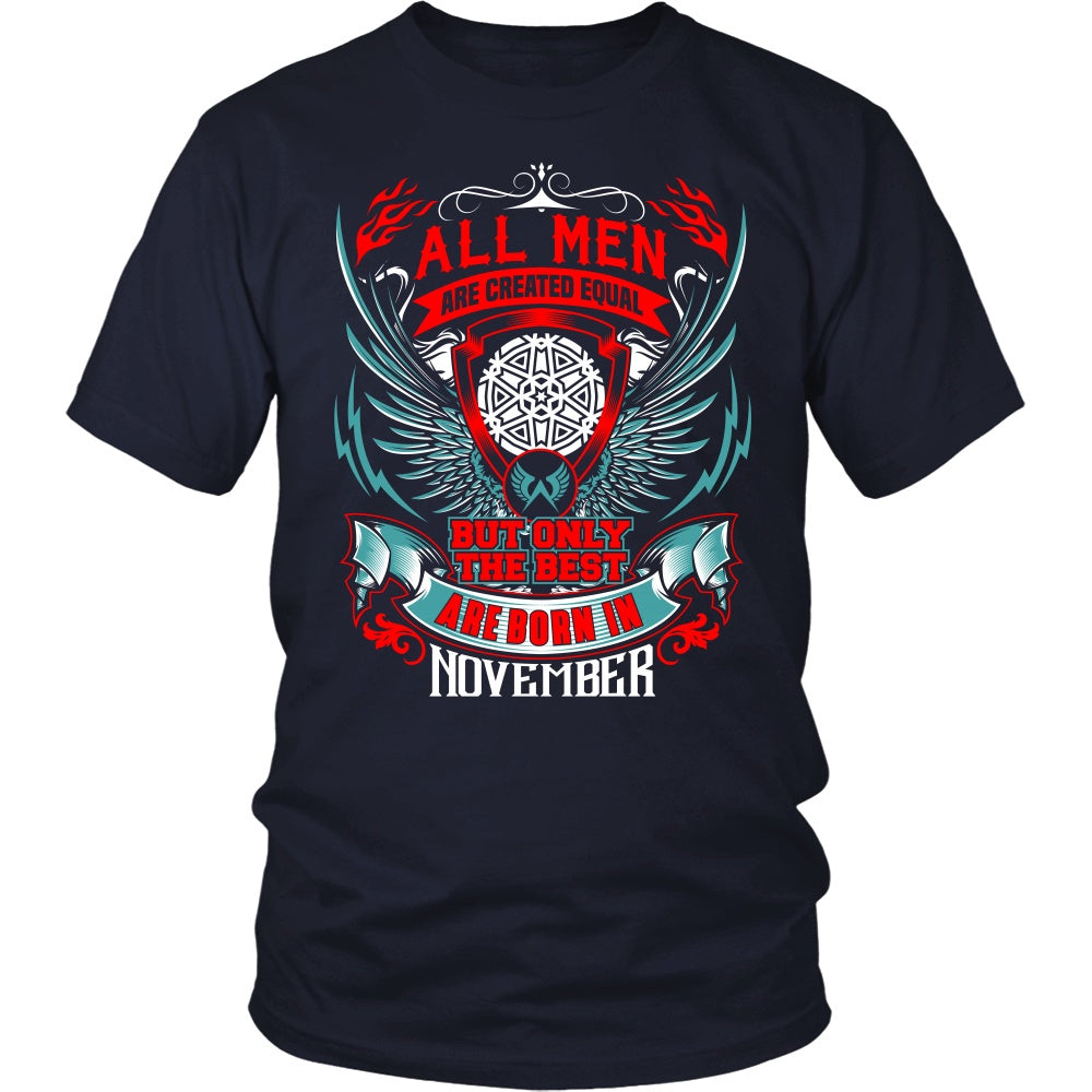 T-shirt - BEST MEN ARE BORN IN NOVEMBER