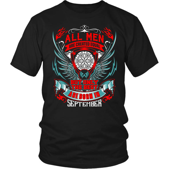 T-shirt - BEST MEN ARE BORN IN SEPTEMBER