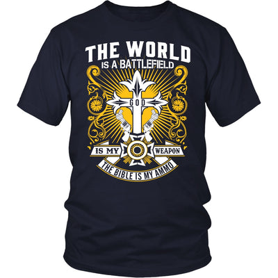 T-shirt - BIBLE IS MY AMMO - SHIRTS