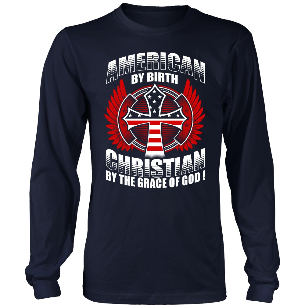 T-shirt - CHRISTIAN BY THE GRACE OF GOD - SHIRTS