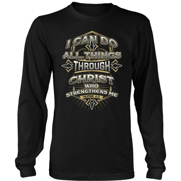 T-shirt - I CAN DO ALL THINGS THROUGH CHRIST - SHIRT