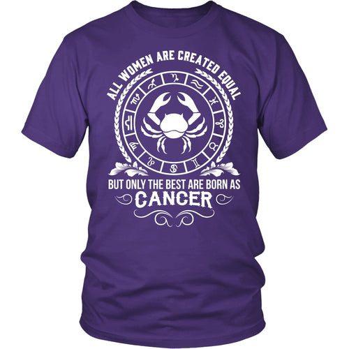T-shirt - WOMEN - BEST ARE BORN AS CANCER