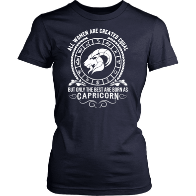 T-shirt - WOMEN - BEST ARE BORN AS CAPRICORN