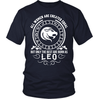 T-shirt - WOMEN - BEST ARE BORN AS LEO