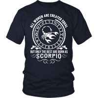 T-shirt - WOMEN - BEST ARE BORN AS SCORPIO