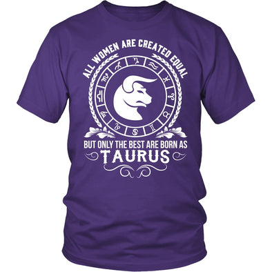 T-shirt - WOMEN - BEST ARE BORN AS TAURUS